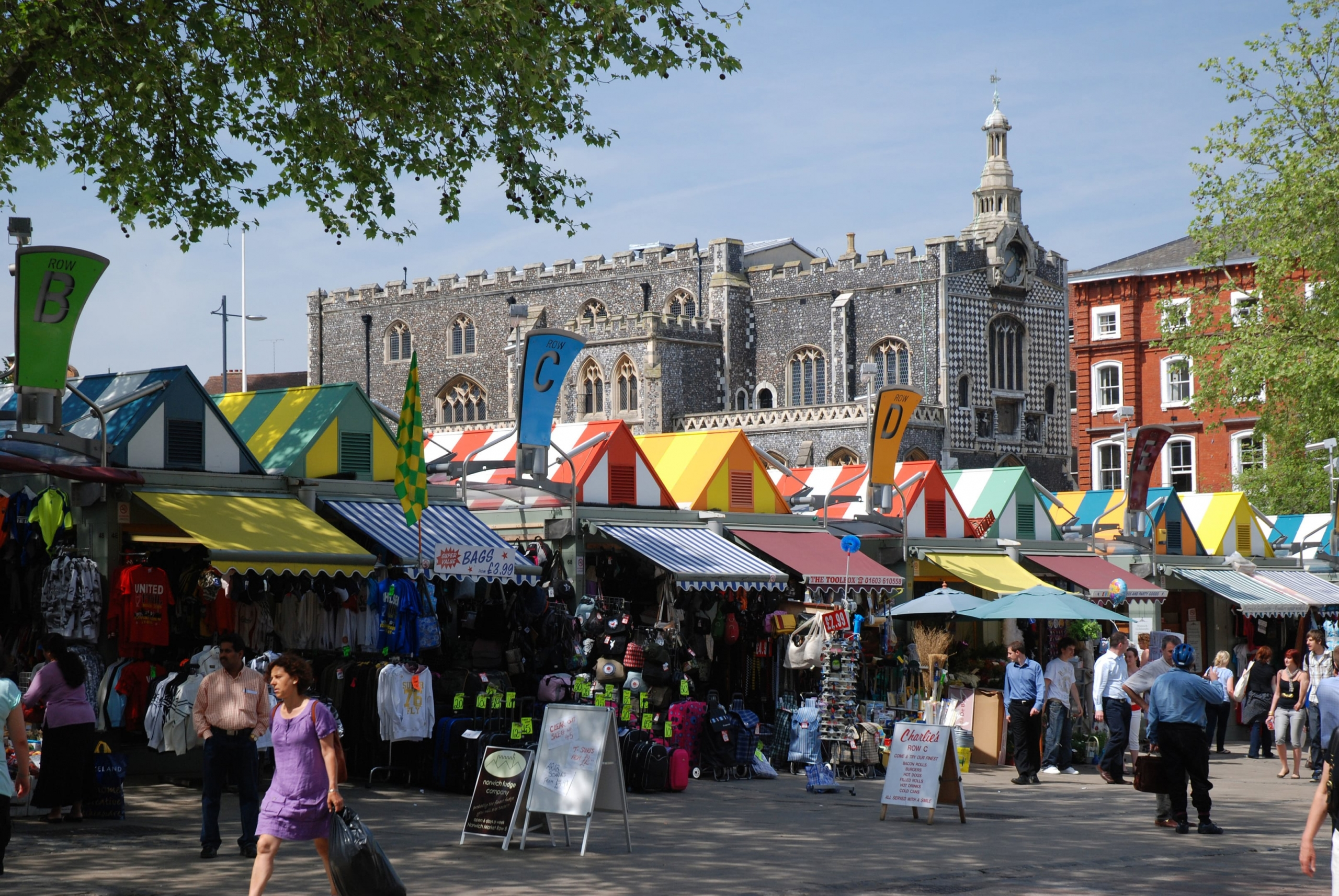 Norwich City market
