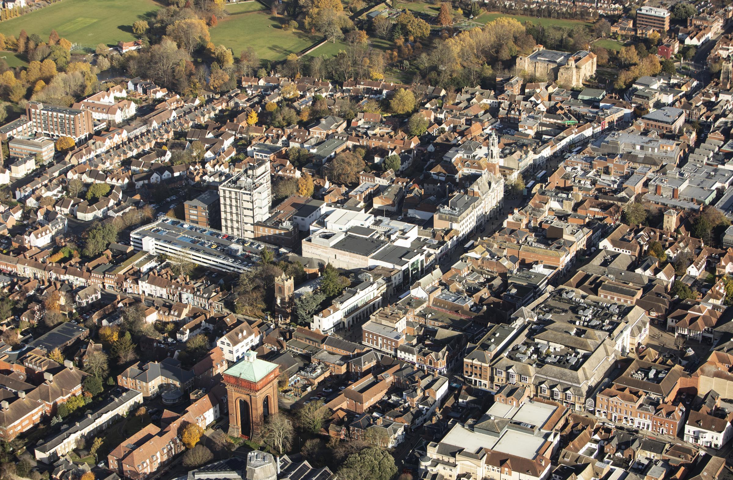 Colchester Town Aerial